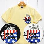 パンディエスタジャパン「熊猫ポップコーン」サガラ刺繍ポケットTee/529561