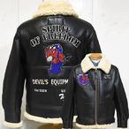 テッドマン「Spirit of Freedom」B-3ムートンジャケット/TDB-3-011