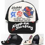 テッドマン「Keep on Surfing」メッシュキャップ/TDC-7600