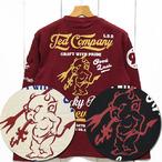 テッドマン「Ted Company」長袖Tee/TDLS-328