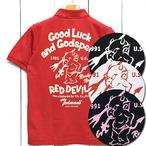 テッドマン「Red Devil」ドライポロシャツ/TSPS-138D