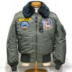 バズリクソンズ「Type B-15D」79th FTR.BOMB.SQ.スコードロンパッチモデル/br14395