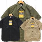 バズリクソンズ「HERRINGBONE」ヘリンボーン半袖ワークシャツ/br38401