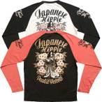 PEAKED YELLOW・ロングTシャツ「JAPANESE HIPPIE」PYLT-154
