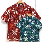 スターオブハリウッド「BLUE HAWAII」ブルーハワイ・半袖コットンOPシャツ/sh38118