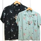 スターオブハリウッド「ATOMIC」レーヨン半袖オープンシャツ/sh38630