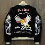 東洋スカジャン「EAGLE OF ALASKA」/tt12332-119r