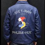 テーラー東洋ベトジャン【VIETNAM MAP・ベトナムマップ】デニム・NO-546